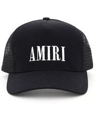 Amiri Core Logo Trucker Hat - Black