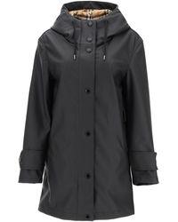 Burberry Hooded Parka Jacket 4 Technical - Black
