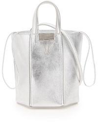 Off-White c/o Virgil Abloh Allen Bucket Bag - Metallic
