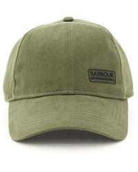 Barbour International Norton Drill Baseball Cap - Green