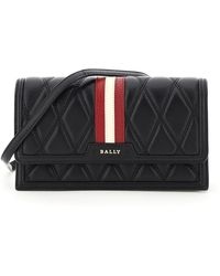 Bally - Dafford Stripe Quilted Mini Bag - Lyst