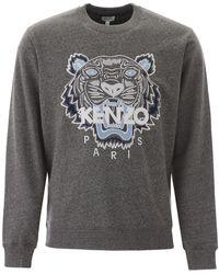 KENZO Tiger Sweatshirt - Gray