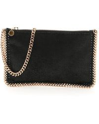 Stella McCartney Falabella Clutch - Black