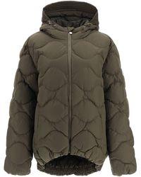 Pyrenex Louna Oversized Down Jacket - Green