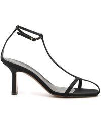 Neous Jumel Grosgrain Sandals - Black