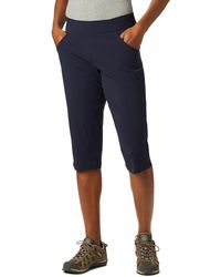 Columbia Anytime Casual Capris - Blue