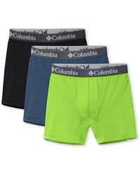 Columbia Poly Stretch Boxer - Red