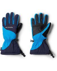 Columbia Tumalo Mountain Gloves - Blue