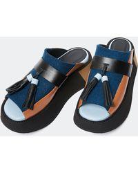 Colville Crusher Sandals - Blue