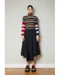 Colville Voulant Skirt - Black