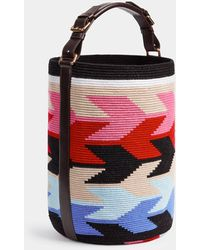 Colville Cylinder Arrows Maxi Bag - Red