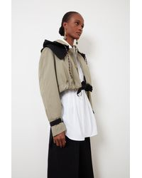 Colville Upcycled Trench - Multicolour