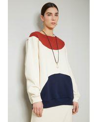Colville Intarsia Sweatshirt - Multicolour
