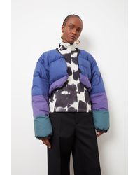 Colville Upcycled Down Jacket - Blue