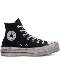Converse Chuck Taylor All Star Platform High Top - Schwarz