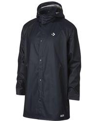 Converse - Waterproof Rubber Trench Men's Coat - Lyst