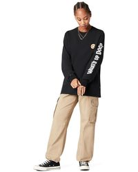 Converse X Bugs Bunny Fashion Long Sleeve Tee - Black