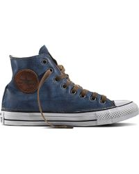 Converse - Chuck Taylor All Star Vintage Denim - Lyst