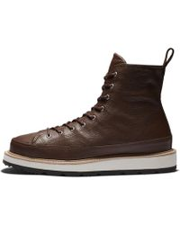 Hot Converse - Chuck Taylor All Star Crafted High Top Boot - Lyst f1c682244