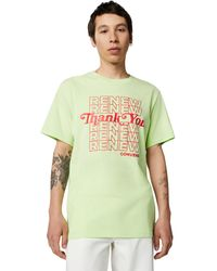 Converse Renew Graphic Tee - Green