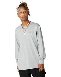 Converse Foundational Long Sleeve Tee - Gray