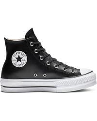 chuck taylor all star platform low top black