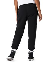 Converse Pantalon de jogging Star Chevron brodé - Noir