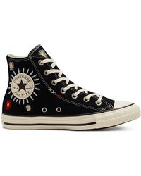 Converse - Embroidered Floral Chuck Taylor All Star - Lyst