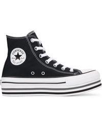 Converse Chuck Taylorall Star Platform High Top - Schwarz