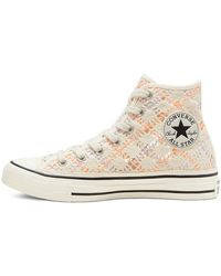 Converse Boho Crochet Chuck Taylor All Star High Top - Black