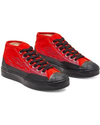 Converse X A$Ap Nast Jack Purcell Chukka Archive Flame - Rot