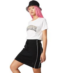 Converse Twisted Varsity Skirt - Black
