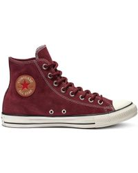 Converse - Chuck Taylor All Star Suede High Top - Lyst