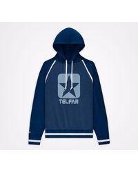Converse Sudadera con capucha x TELFAR T-Shirt - Azul
