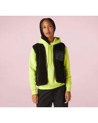 Converse Sherpa Reversible Vest - Black