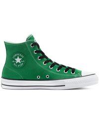 Converse CONS Perforated Suede CTAS Pro High Top Green, Black - Verde