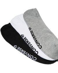 Converse Chaussettes Made For Chucks pour Homme - Blanc