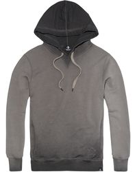 Converse - Hooded Concrete Smoked Sweatshirt - Lyst
