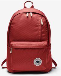 Converse - Original Backpack (red) - Lyst 6ea6d5640e15d