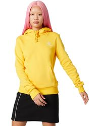 Converse Star Chevron Embroidered Pullover Hoodie - Giallo