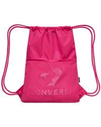 Converse accessori Sacca zaino shoebag verde borsa 6FA045S