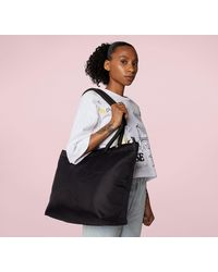 Converse Quilted Tote Bag - Nero