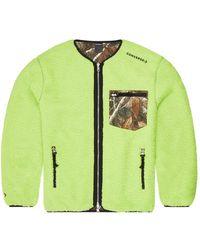 Converse Utility Reversible Sherpa Jacket - Verde