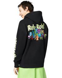 Converse X Scooby-doo Fashion Hoodie - Black