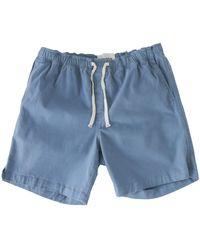 Corridor NYC Vintage Indigo - Drawstring Shorts - Blue