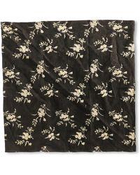 Corridor NYC Black Floral Bandana