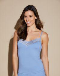 Cosabella Classic Camisole - Blue
