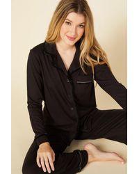 Cosabella Langarmshirt & Hose - Black