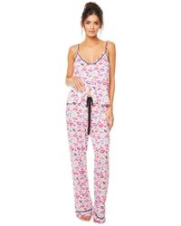 Cosabella - Aubrie Printed Pant - Lyst