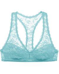 Cosabella Beauty Racie Racerback Bralette - Blue